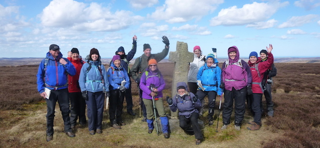 North York Moors walking weekend
